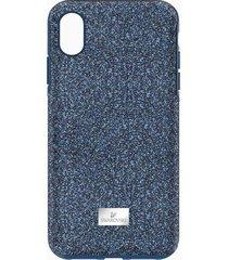 custodia smartphone con bordi protettivi high, iphoneâ® xs max, azzurro