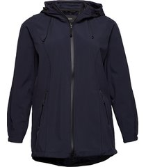 softshell jacket water repellent soft and warm sommarjacka tunn jacka blå zizzi