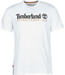 t-shirt korte mouw timberland oa linear