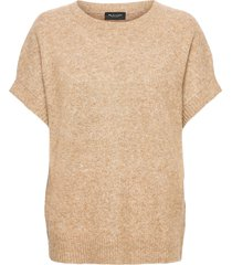 5210 - izadi t-shirts & tops knitted t-shirts/tops beige sand