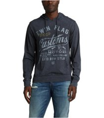 silver jeans co. keilan graphic hoodie