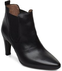 m-4206 shoes boots ankle boots ankle boots with heel svart wonders