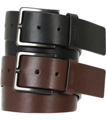 hugo boss men's gionios casual leather belt