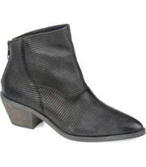 journee collection signature women's cassie bootie women's shoes