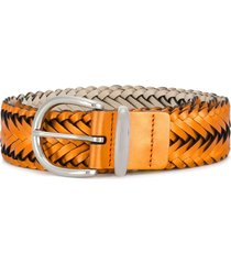 b-low the belt woven belt - yellow