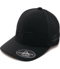 gorra negro alpinestars ageless delta hat