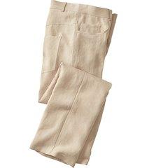 linnen broek in 5-pocket-style, zand 54