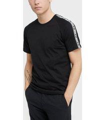 jack & jones jcogunner tee ss crew neck t-shirts & linnen svart