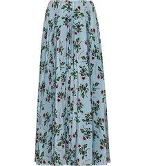 floral print mid-length skirt
