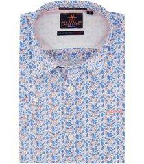 korte mouwen overhemd new zealand fairlie navy
