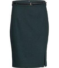 skirts woven knälång kjol grön esprit collection