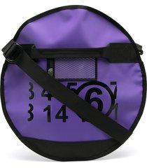mm6 maison margiela x tnf base camp clutch bag - purple