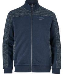 sweatshirt port sweat zip jacket