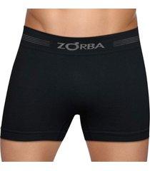 cueca boxer seamless free zorba 0844 t.p/gg preto
