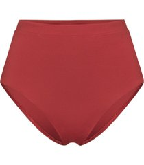 bondi born tatiana high-rise bikini bottoms - red