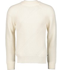 matinique pullover - slim fit - wit
