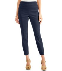 jm collection pull-on front-seam skinny pants, created for macy's