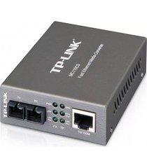 conversor de medios tp-link monomodo a 10/100 mbps mc110cs