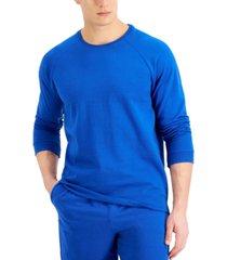 alfani men's moisture-wicking pajama sweatshirt, created for macy's