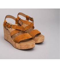 nerogiardini sandali con zeppa