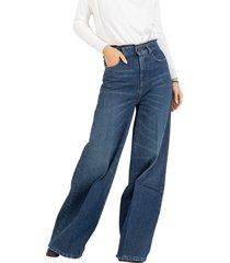 super flare medium dark denim jeans