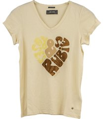 mos mosh rubies t-shirt ecru