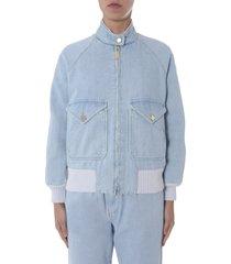 alberta ferretti jacket with zip