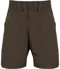 laneus poplin shorts
