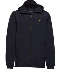 microfleece lined zip through jacket dun jack zwart lyle & scott