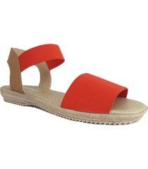 sandalia roja kataleya