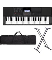 combo casio ct-x700 piano base estuche