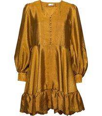 farrow, 699 textured polyester dresses cocktail dresses goud stine goya