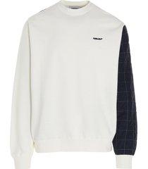 ambush mix quilted fleece sweatshirt