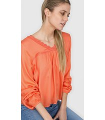 blusa naranja nano emilia 0920
