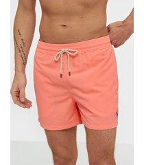 polo ralph lauren slim traveler swim shorts badkläder pink