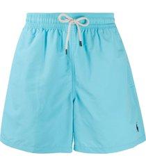 polo ralph lauren classic swim shorts - blue