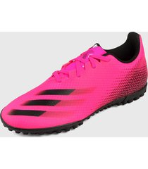 tenis lifestyle fucsia-negro adidas performance x ghosted.4 pst
