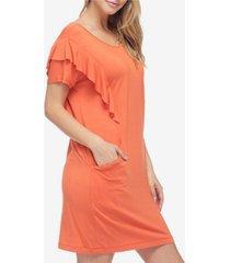 fever women's ruffle dress