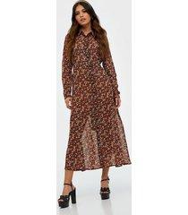 y.a.s yasnoida ls long shirt dress s. långärmade klänningar