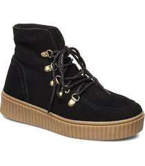boot shoes boots ankle boots ankle boot - flat svart sofie schnoor