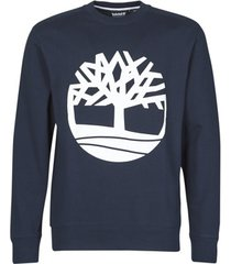 sweater timberland core logo tree crew sweat (loopback)