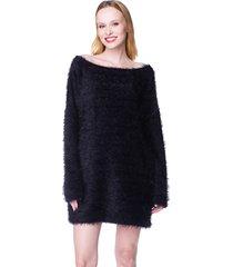 tunika - sweter włochacz