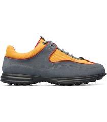 camper lab pop trading company, sneaker uomo, grigio/arancione/rosso , misura 46 (eu), k100580-001