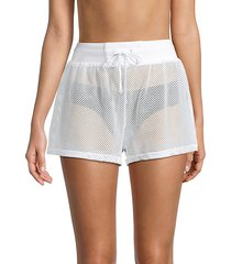 poolside mesh shorts