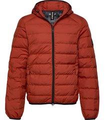 asp jacket man gevoerd jack oranje ecoalf