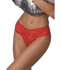 calcinha biquãni ternesse demillus 53088 chic red - vermelho - feminino - dafiti