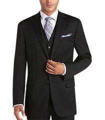 joseph abboud black modern fit suit separates coat
