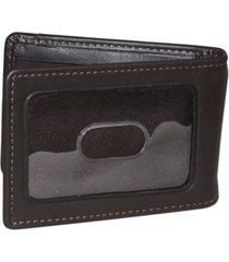 dopp regatta front pocket money clip wallet