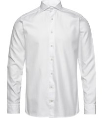 white twill shirt - soft overhemd business wit eton