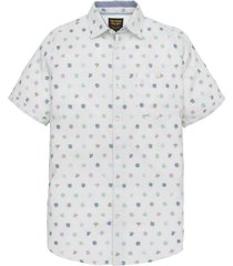 short sleeve shirt fil coupe bright white